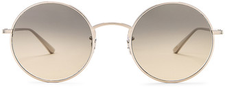Oliver Peoples x The Row After Midnight Sunglasses in Silver & Shade Gradient | FWRD