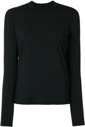 James Perse Cool Touch knitted top