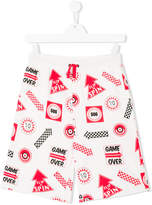 Stella McCartney Rob games print shorts