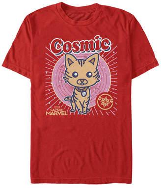 Marvel Men Captain Cosmic Goose Kawaii Cartoon, Short Sleeve T-shirt