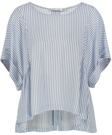 Bishop + Young Flowy Striped Blouse