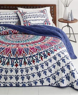 Azalea Skye Hanna Medallion Quilt Set, Full/Queen Bedding