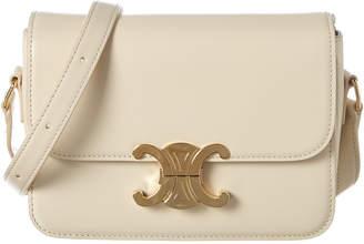 Celine Teen Triomphe Leather Shoulder Bag