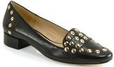 Diane von Furstenberg Cadence - Studded Loafer in Black