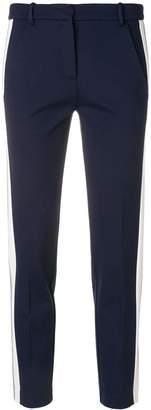 Pinko side stripe skinny trousers
