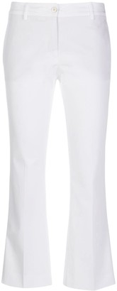Alberto Biani Flared Cropped Trousers