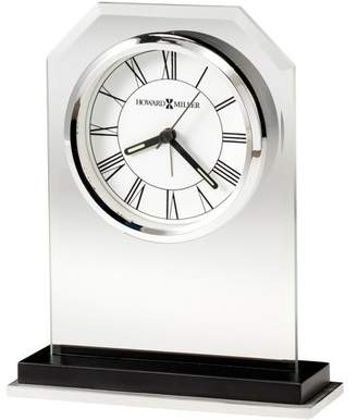 Howard Miller Emerson Table Clock 645-795 - Modern and Rectangular with Quartz Movement