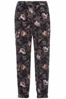 French Connection Floral Drape Joggers