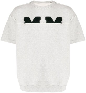 Maison Margiela Distressed Logo Sweatshirt