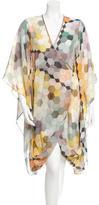 Matthew Williamson Sheer Printed Dress