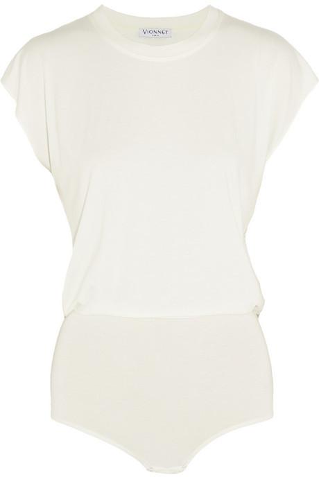 Vionnet Stretch-jersey bodysuit