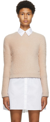 Victoria Victoria Beckham Pink Button Back Sweater