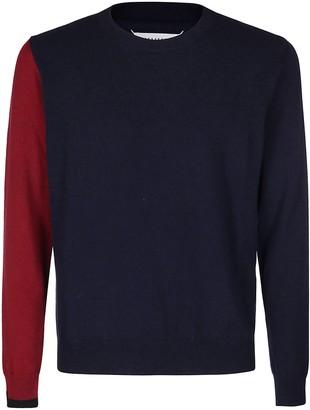 Maison Margiela Colour-Block Knit Sweater
