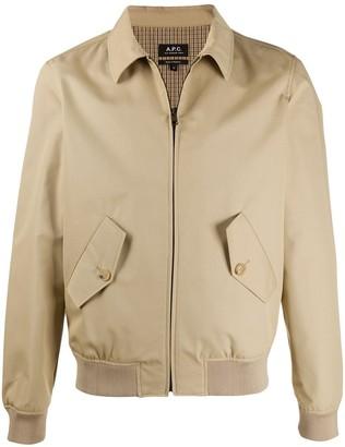 A.P.C. Classic Collar Double Pocket Shirt Jacket