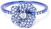 As 29 As29 diamond flower ring