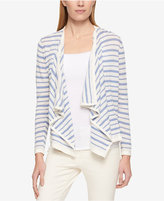 Tommy Hilfiger Striped Draped Cardigan, Only at Macy's