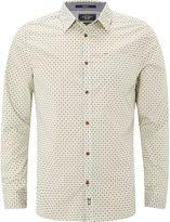White Stuff Gig Geo Print Long Sleeve Shirt