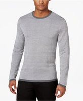 Alfani Men's Textured Striped Sweater, Only at Macy's