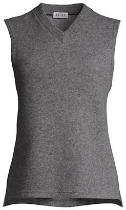 Leset Sienna V-neck Sweater Vest