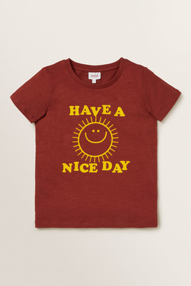Seed Heritage Have A Nice Day Tee