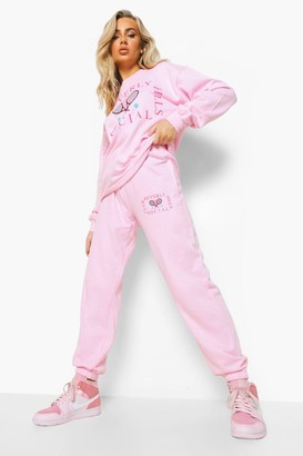boohoo Beverly Hills Tennis Club jumper Tracksuit