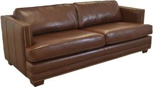 Westland and Birch Millbury Leather Sofa Upholstery Color: Burnham Oatmeal