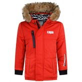 Ikks IKKSBaby Boys Red Padded Parka