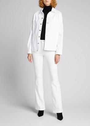 L'Agence X Bert Stern Joplin High-Rise Flare Jeans