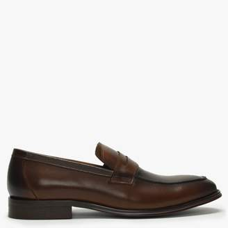 Daniel Sadshot Tan Leather Loafers