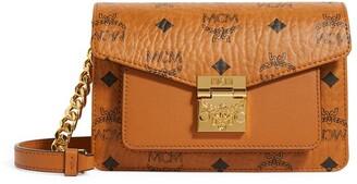 MCM Mini Patricia Visetos Belt Bag