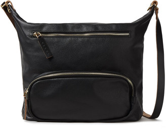 Marni Convertible Pebbled-leather Backpack