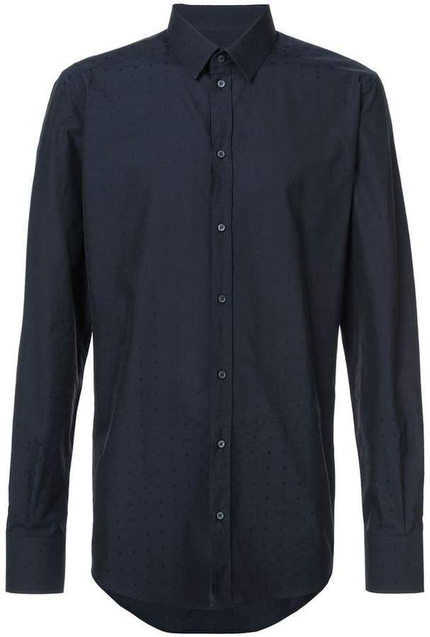 Dolce & Gabbana polka dot patterned shirt