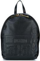 Moschino satchel effect backpack