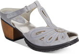 Jambu Women's Sahara T-Strap Sandals