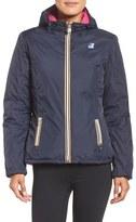 K-Way Women's Lily Reversible Waterproof Down Jacket