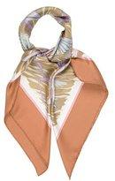 Hermes Cols Verts Silk Scarf