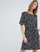 Warehouse Ditsy Floral Shift Dress
