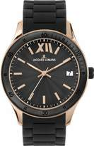 Jacques Lemans Men's 1-1622Q Rome Sports Sport Analog with Silicone Strap Watch