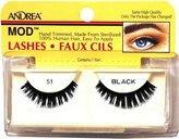Andrea ModLash False Eyelashes - Black