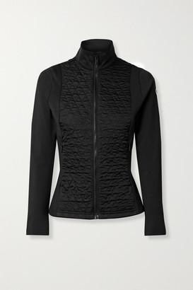 Fusalp Hermine Quilted Paneled Stretch-jersey Ski Jacket - Black