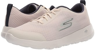Skechers Performance Go Walk Max (Natural/Navy) Men's Shoes
