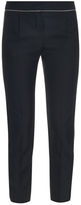 Balenciaga Chain-trimmed cropped trousers