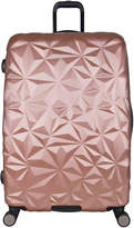 Aimee Kestenberg Geo Molded 28-Inch Checked Hard Shell Luggage - Women's