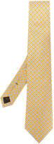 Church's floral motif tie