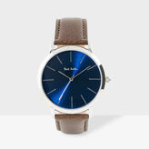 Paul Smith Men's Navy And Brown 'Ma' Watch