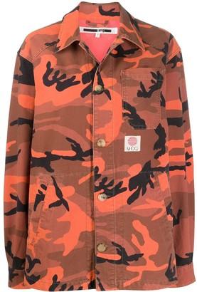 McQ camouflage print jacket