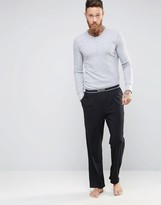 HUGO BOSS BOSS By Loungepants With Contrast Waistband In Loose Fit