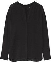 Vince Silk Blouse - Black