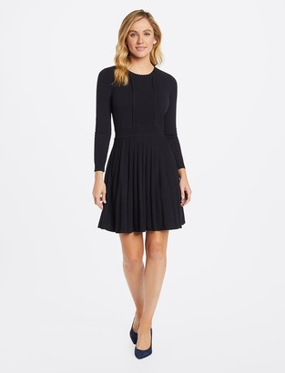 Draper James Scallop Sweater Dress