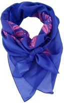 Mcq By Alexander Mcqueen razor blade print scarf